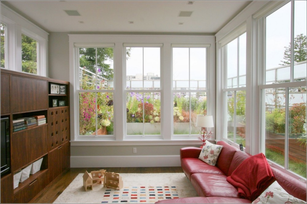 5 power tips to make your room look bigger dreamzone for Window treatments for double hung windows